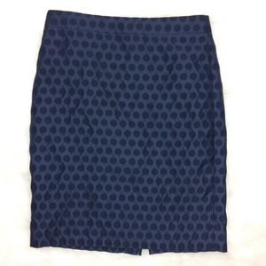 J. Crew Factory Skirts - J. Crew Factory Polka Dot Pencil Skirt Size 0